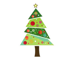 fabric-christmas-tree-wall-sticker