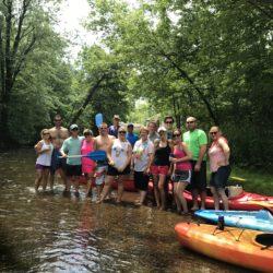 Group Kayak trip